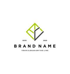 Letter c leaf logo design vector
