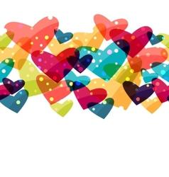 Valentine holiday saint seamless pattern vector