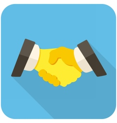 Partnership icon vector image vector image