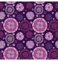 Abstract Ethnic background vector image vector image