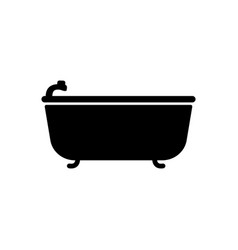 bath icon bathroom and sauna element icon premium vector image