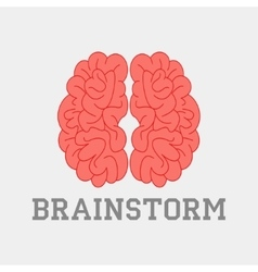 Brainstorm think idea vector