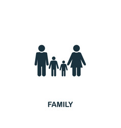 Family icon creative element design from vector