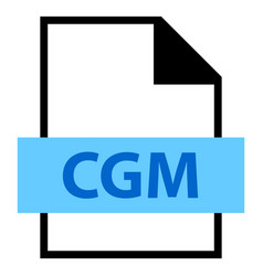 file name extension cgm type vector image