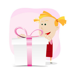 Girl birthday vector