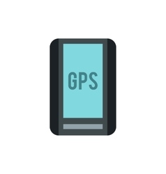 Handheld JPS icon flat style vector image