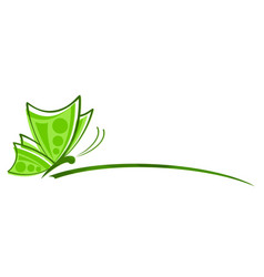 Logo of butterfly vector