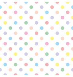 Seamless sweet colorful badots white background vector