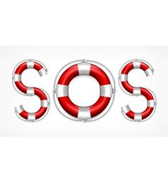 SOS symbol vector