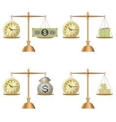libra money vector image