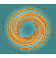 Whirlpool background vector image vector image