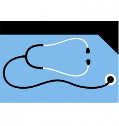 stethoscope vector image