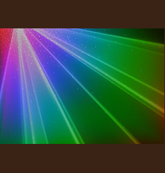 colorful disco light background vector image vector image
