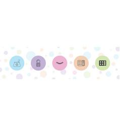 5 make icons vector