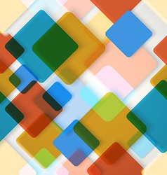 Abstract seamless background of different color vector image