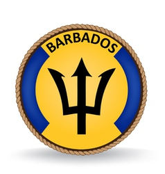 Barbados Seal vector