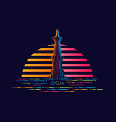 Gradient logo modern concept design vector