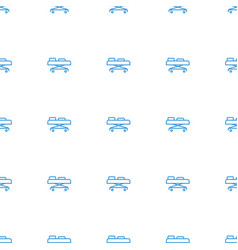 hospital stretch icon pattern seamless white vector image