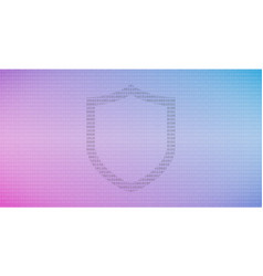 internet technology cyber security data concept vector image