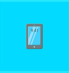 mobile logo design or symbol dan icon template vector image
