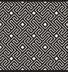 Seamless pattern stylish linear lattice vector
