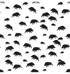 Wild Boar seamless vector