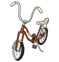 retro cycle vector image vector image