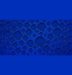 Abstract background with holes vector