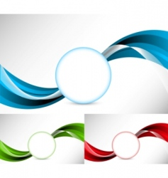 abstract illustration set of background vector image