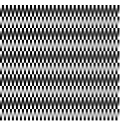Alternating rectangles pattern with great contrast vector