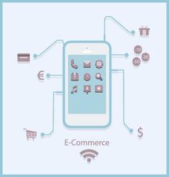 e-commerce3 vector image