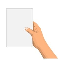 Empty notepad vector