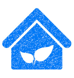 Greenhouse icon grunge watermark vector