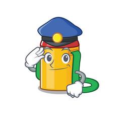 Kids water bottle scroll cartoon mascot style as a vector