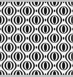 seamless stylish pattern modern ornament vector image