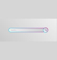 search bar vector image
