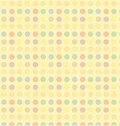 dot seamless 2 vector image vector image
