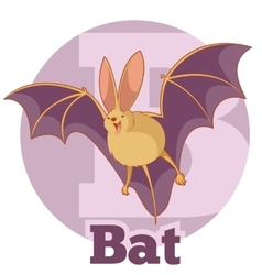 ABC Cartoon Bat2 vector image