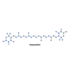 Astaxanthin is a keto-carotenoid vector