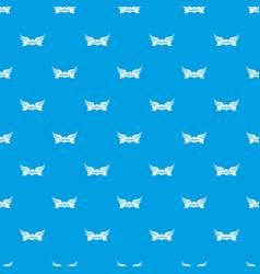 Aurora wing pattern seamless blue vector