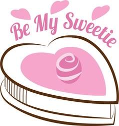 Be My Sweetie vector image