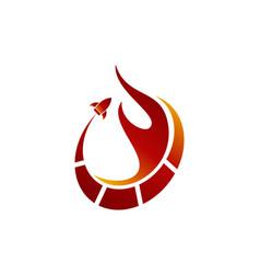 Fire rapid vector