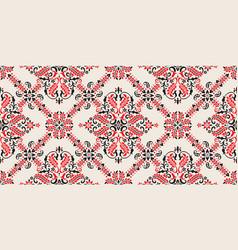 Seamless pattern based on ornament paisley bandana vector