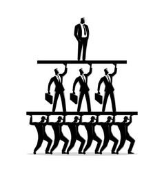 work class pyramid vector image