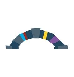 Bridge web icon vector image