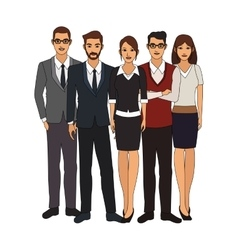 Businesspeople icon image vector