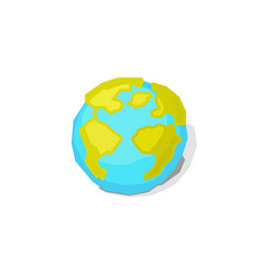 earth world globe vector image