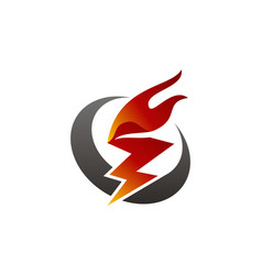 fire rapid vector image