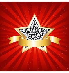 Gold Star vector