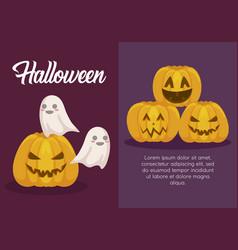 Halloween celebration design vector